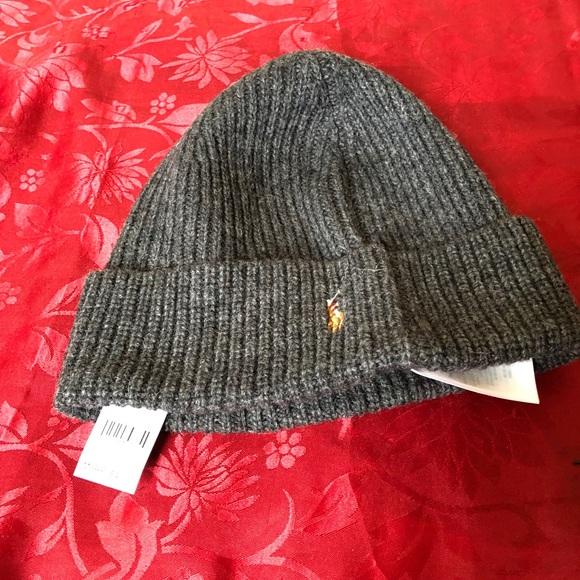 9081df5fd Brand new Ralph Lauren polo beanie hat for sale NWT